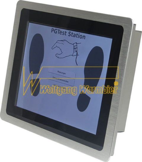 Touch Screen Monitor V18 mit integriertem DATATerminal / Touch Screen Monitor V18 with integrated DATATerminal