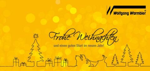 Wolfgang Warmbier wünscht Frohe Weihnachten und einen guten Start ins neue Jahr!