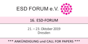 16. ESD-Forum 2019