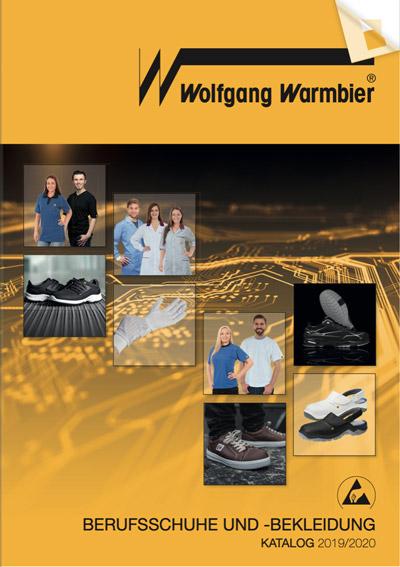 """Warmbier Katalog """"Berufsschuhe und -Bekleidung"""" 2019/2020"""