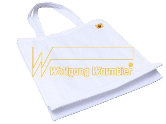 ESD-Tasche, weiß 360×400 mm, mit ESD-Symbol