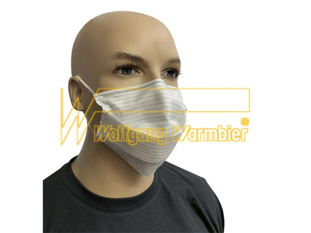 ESD face mask cleanroom fabric (reusable)