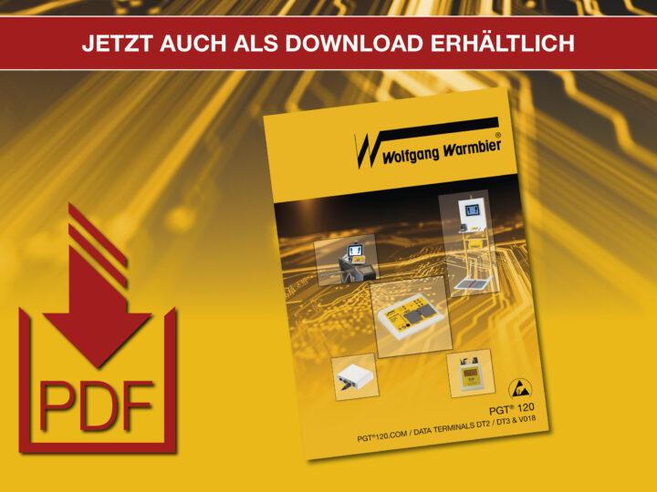 PGT®120.COM / DATA TERMINALS Broschüre – Jetzt auch als Download erhältlich